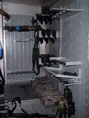 Wall Mounted Weapon Panels Wall Mounted Gun Panels