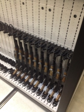 High Density Open Weapon Rack Weapon Shelving