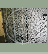Woven Wire Weapon Rack Cages