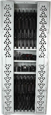 Combat Weapon Rack configured with M4s