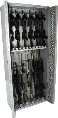 M240B stored in ODA Weapon Rack configuration