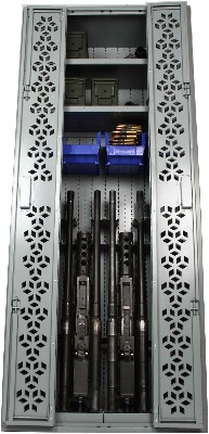 M2 .50 Cal Machine Gun Weapon Racks, Combat Weapon Storage