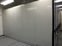 High Density Weapon Shelving Systems, Combat Weapon Shelving on mobile carriages